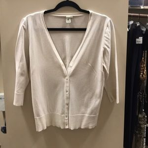 Sweaters - Off white cardigan